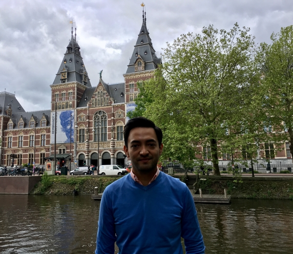 Luis Rosas on secondment to Amsterdam